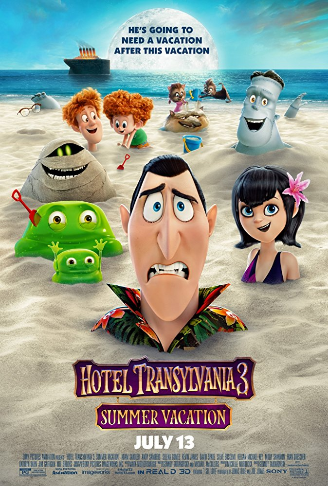 Movie poster for Hotel Transylvania 3